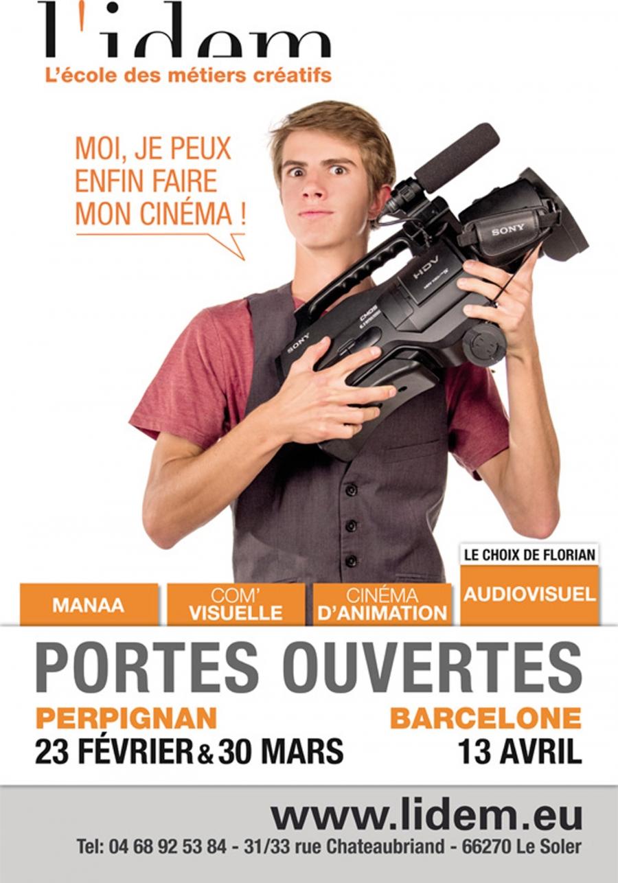 Affiche n°1 JPO de L'IDEM 2013