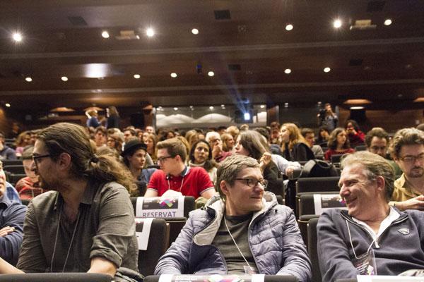 Les pros à l'auditorium lors du Summit 2016