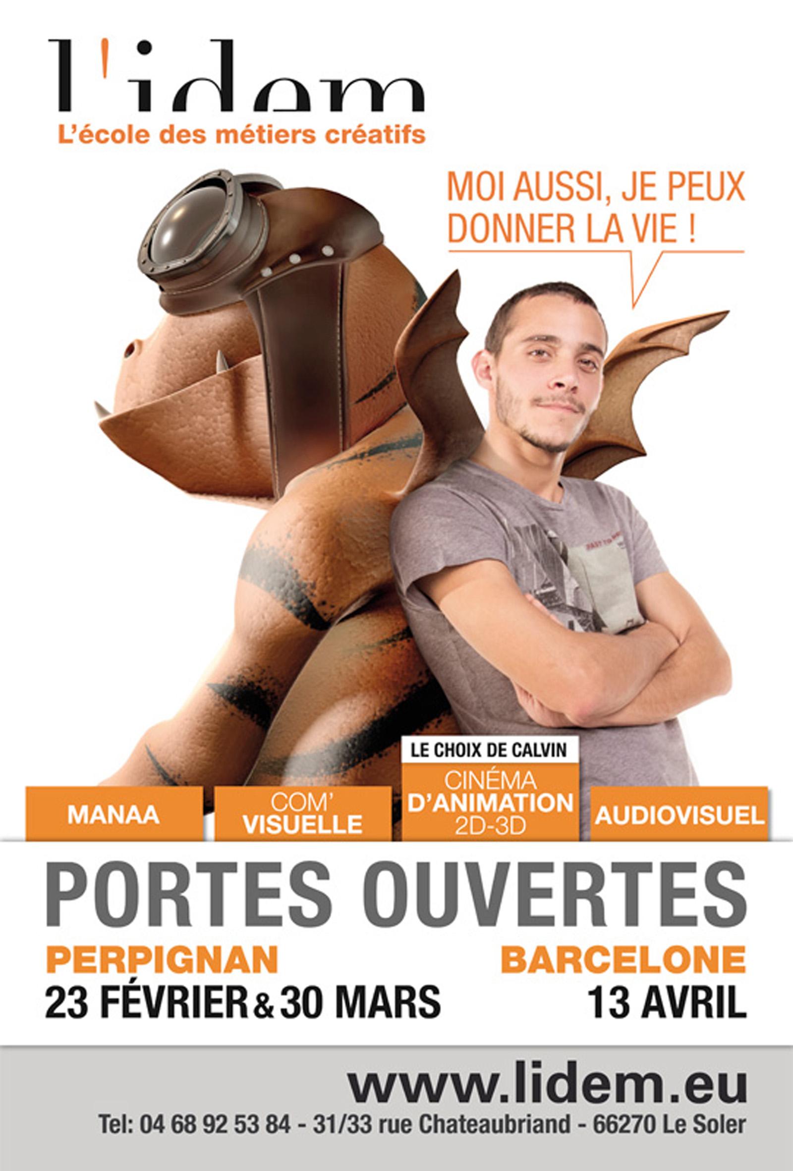Affiche n°3 JPO de L'IDEM 2013