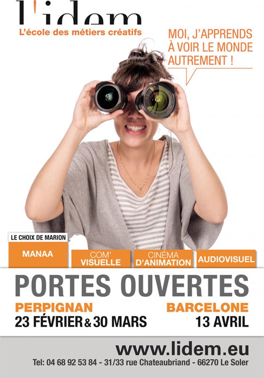 Affiche n°4 JPO de L'IDEM 2013