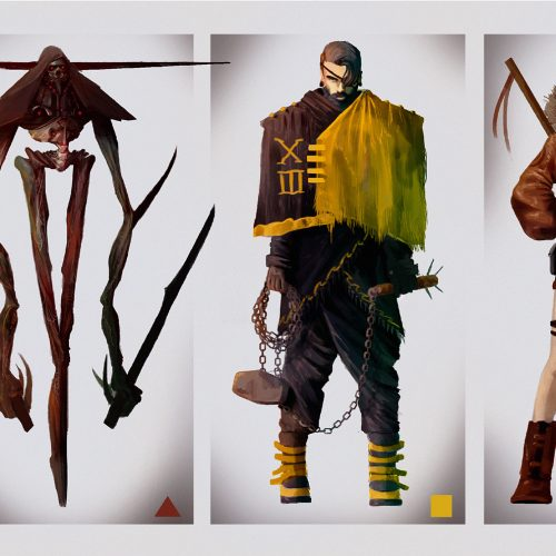 Character design Apocalypse