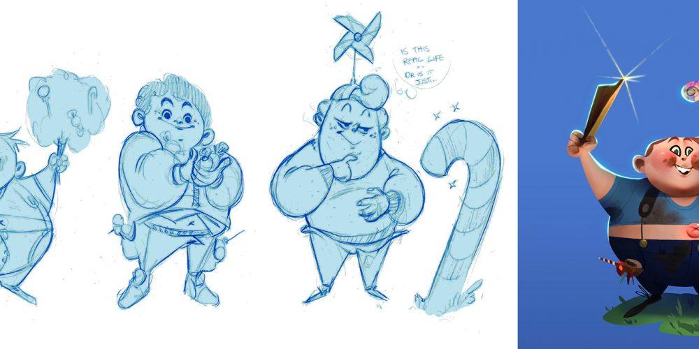 Charlie et la chocolaterie - Étude de personnages
