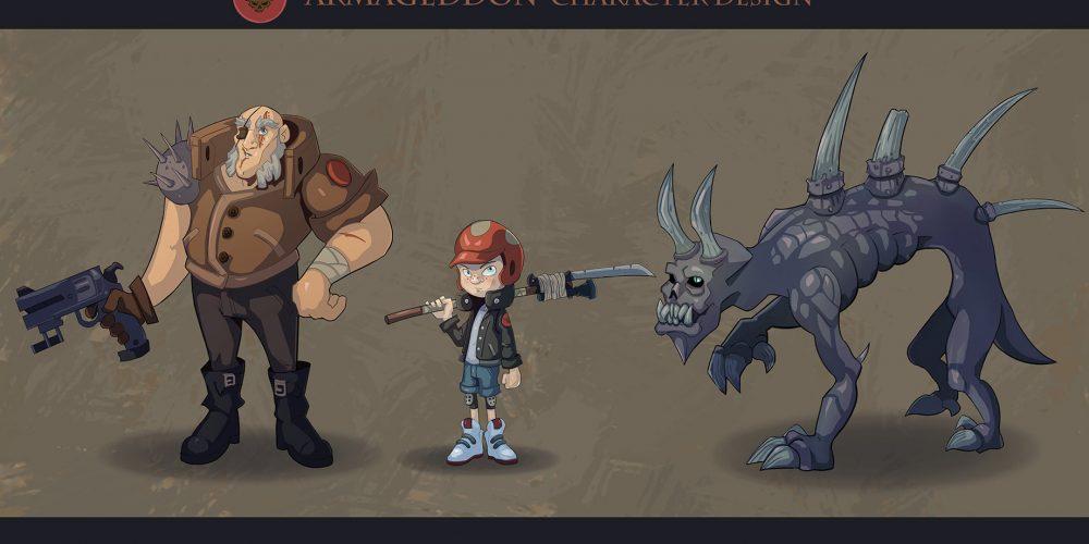 Armageddon - Character Design