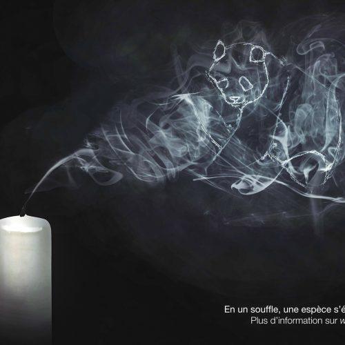 Campagne wwf extinction n°2