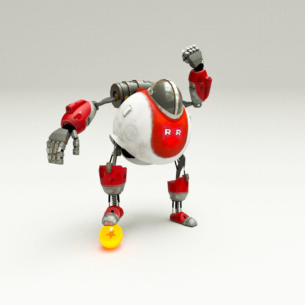 Robot foot - 3D