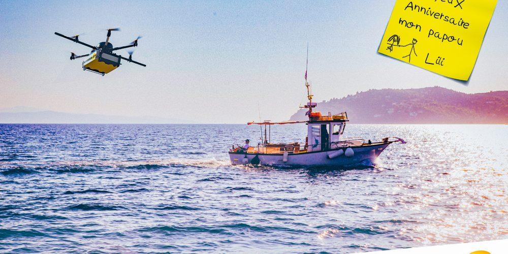Campagne drone La Poste - 4x3 n°2