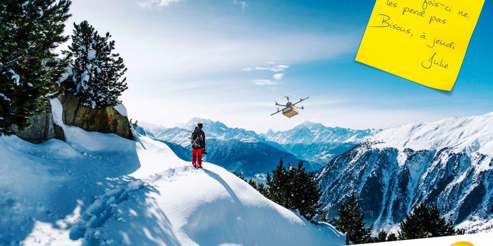 Campagne drone La Poste - 4x3 n°1