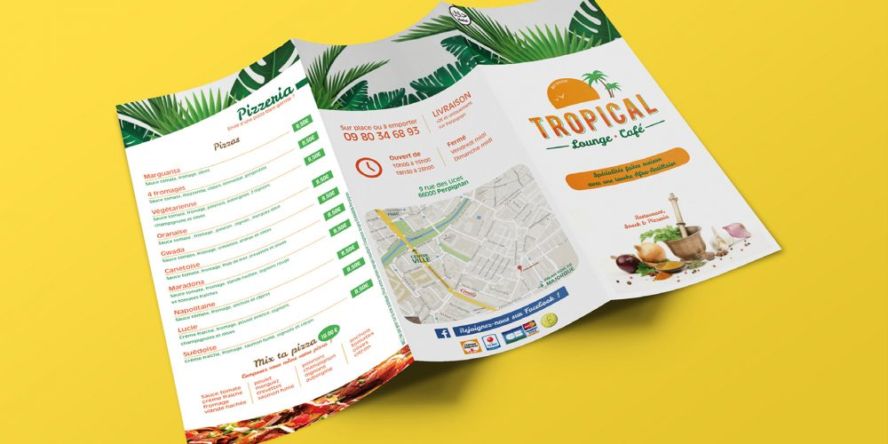 Tropical Café recto