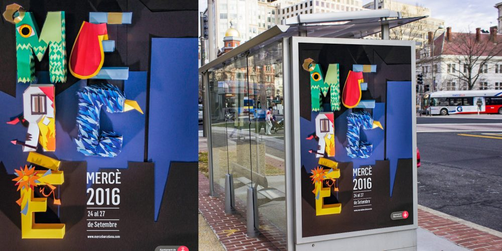 Campagne Merce 2016 - Paper cut