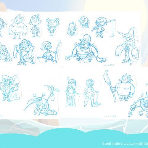 Character Design Santi Salas