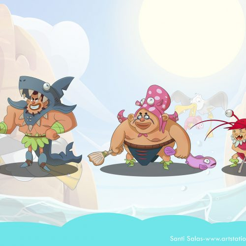 Character Design Santi Salas n°3