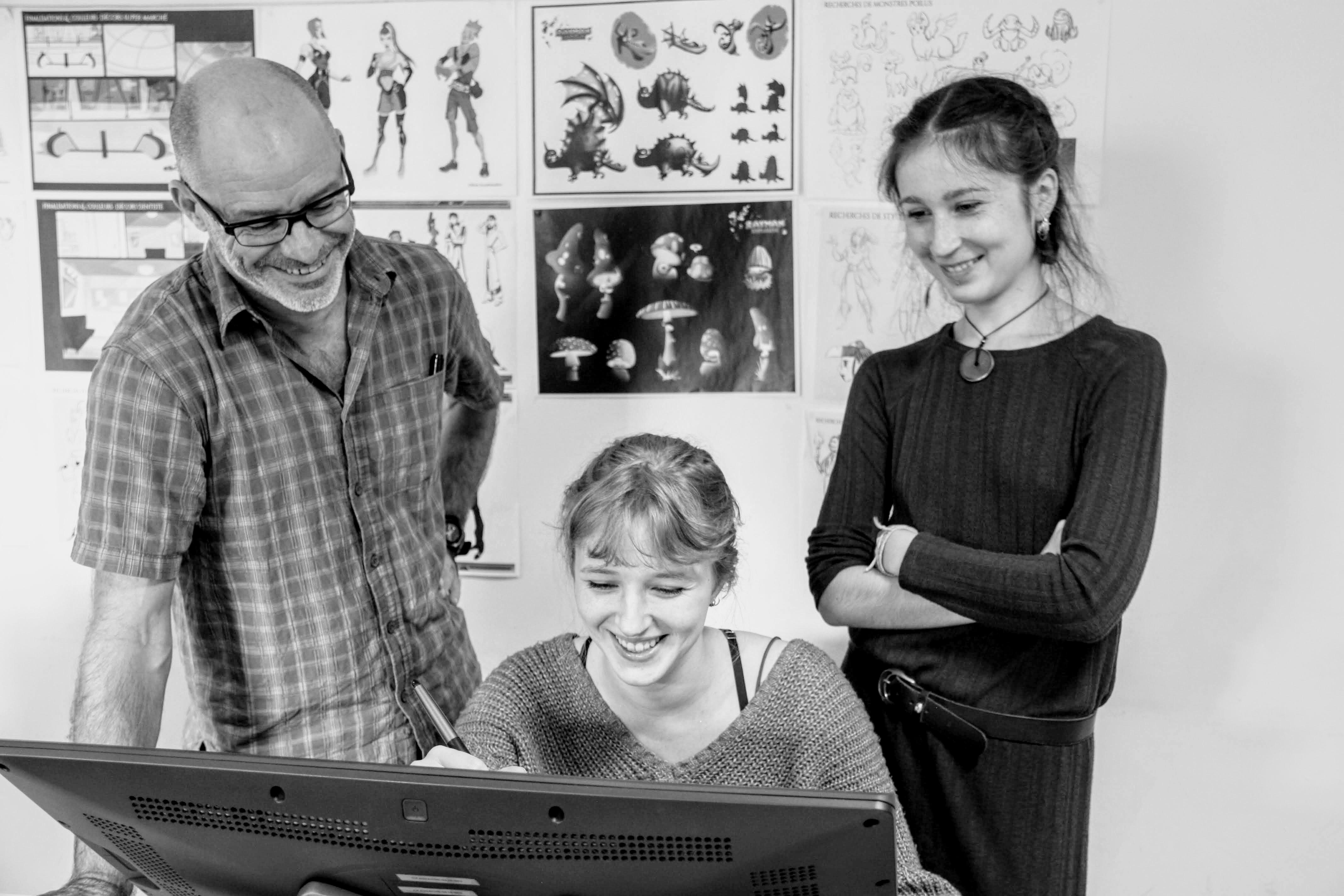 {INTERVIEW PRO} Le parcours de Ludovic Hell, formateur en animation 2D à l'Idem