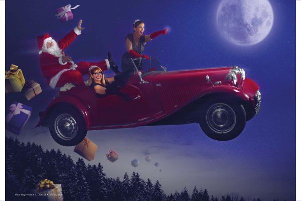 Calendrier des princesse montage Noël