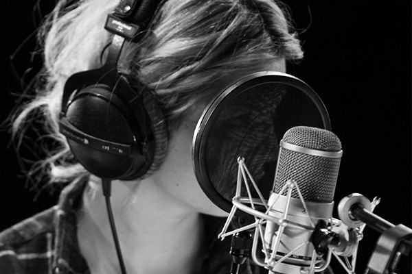 Visuel enregistrement studio live